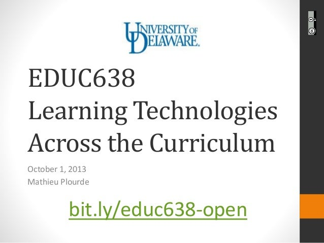 EDUC638 Openness in Education