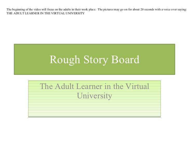 Educ 8842 rough story board