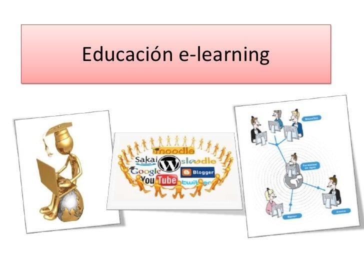 Educación e-learning