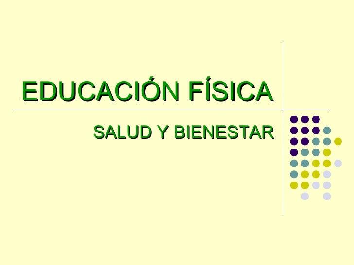 Educacion Fisica y Salud Educaci n f Sica Salud y