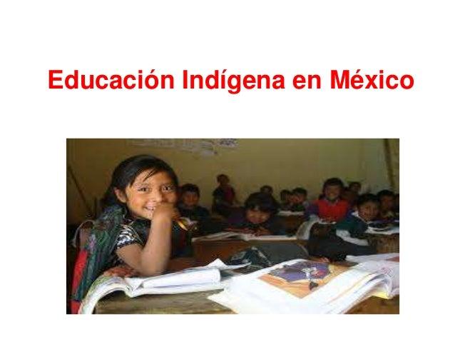 Educación indígena