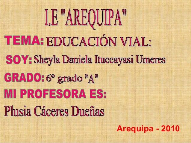 . Arequipa - 2010