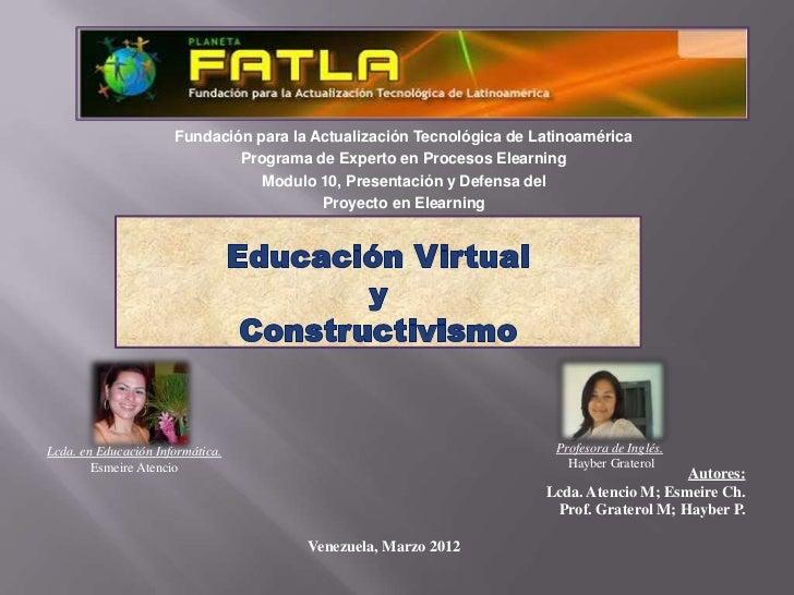 Fundación para la Actualización Tecnológica de Latinoamérica                              Programa de Experto en Procesos ...