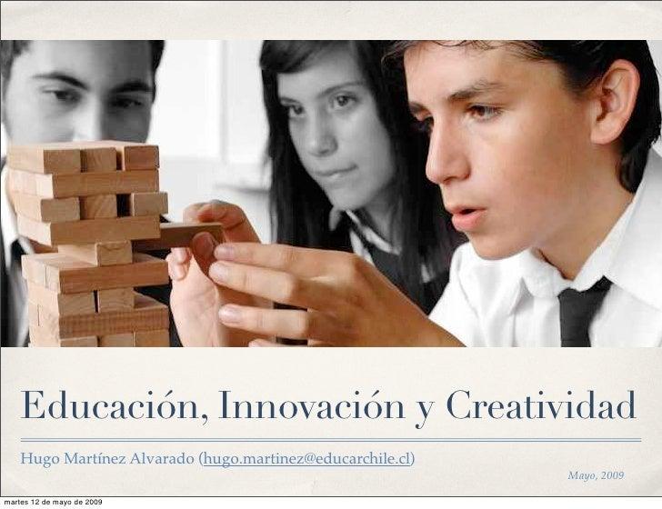Educación y Creatividad
