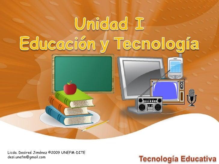 Educación y tecnologia