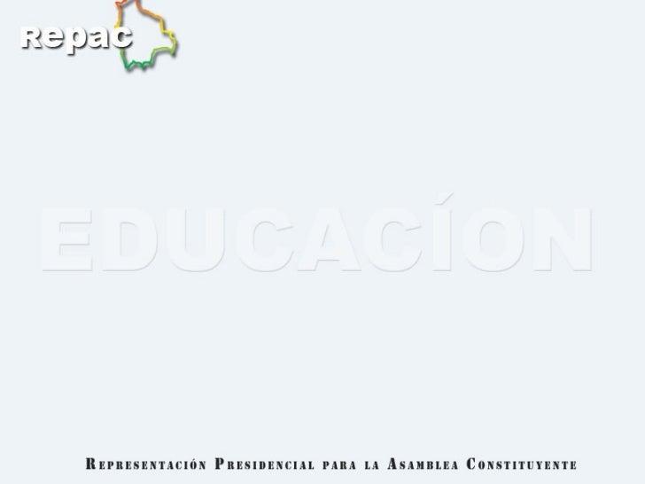 La nueva  Constitución Política de Estado  entregado en La Paz  el 15 de Diciembre de 2007