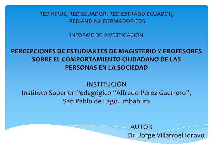 Educacion ciudadana red kipus