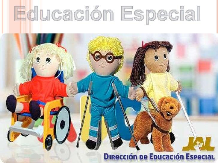 Educación Especial<br />