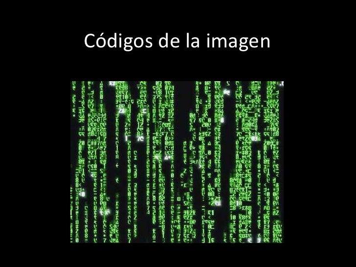 Códigos de la imagen