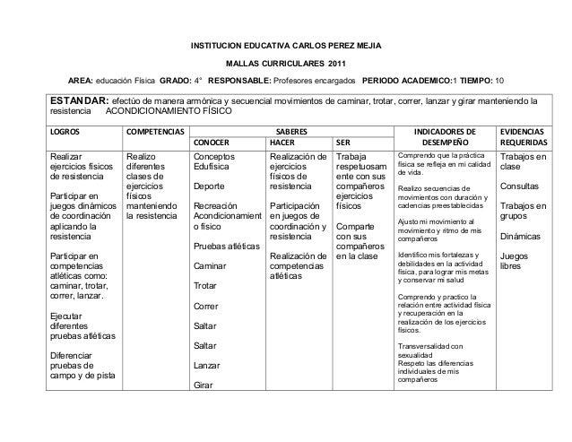 Educacion fisica grado 4°c..febrero 8 2013