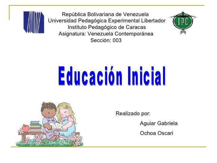 Educacion inicial for Planificacion de educacion inicial