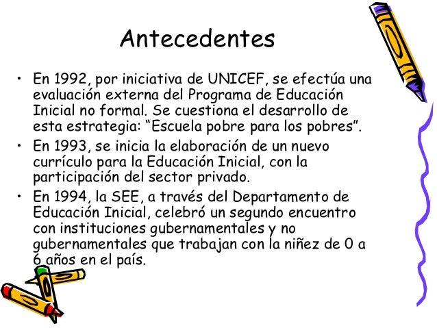 Educacion inicial en rep dom for Nuevo curriculo de educacion inicial