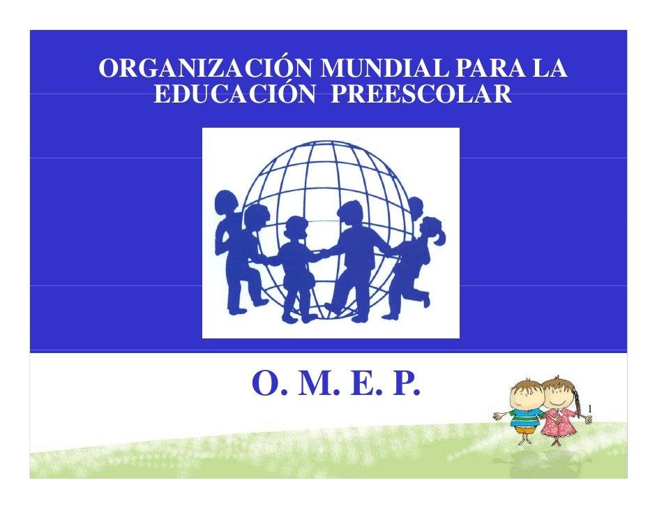 Educacion Para La Primera Infancia
