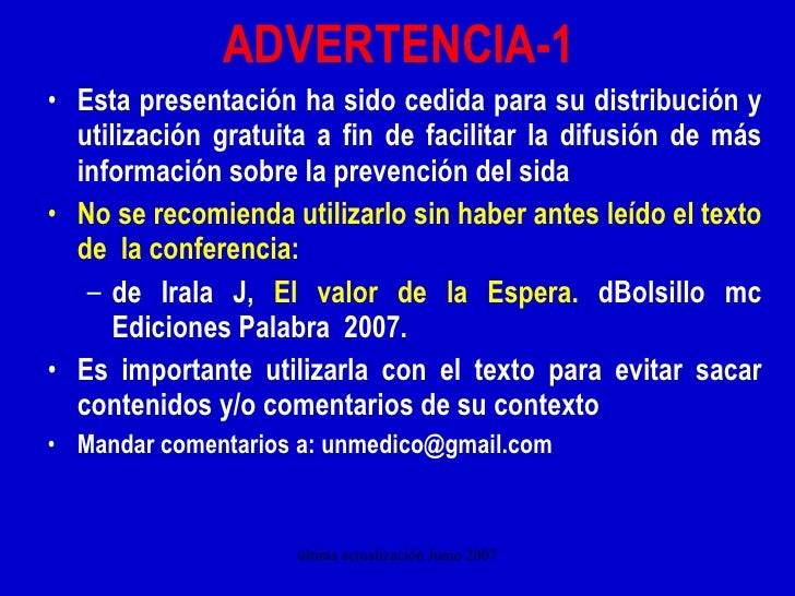 ADVERTENCIA-1 <ul><li>Esta presentación ha sido cedida para su distribución y utilización gratuita a fin de facilitar la d...