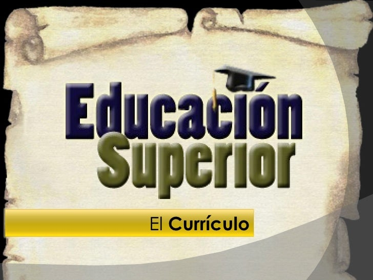 educacion nivel superior: