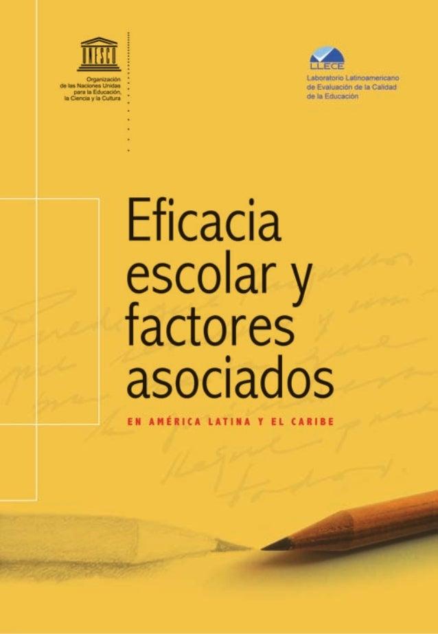 Laboratorio Latinoamericano                                    de Evaluación de la Calidad                                ...