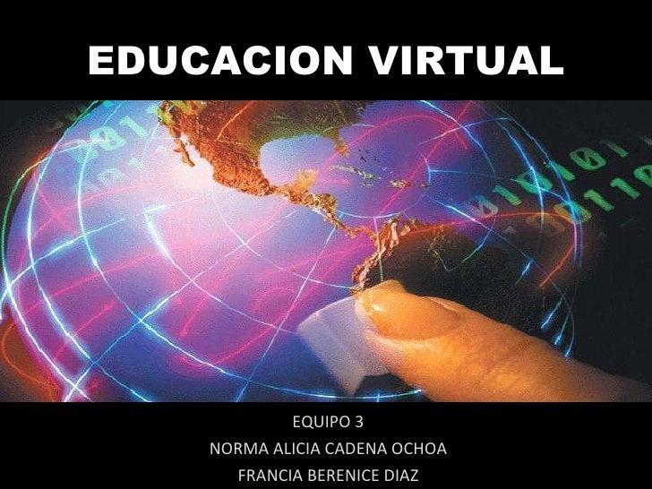 Educacion virtual, sincronica y asincronica