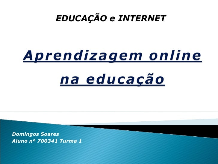 Aprendizagem Online na Educação