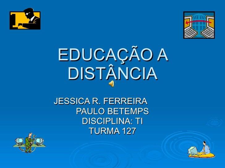EducaçãO A DistâNcia.Ppt%20