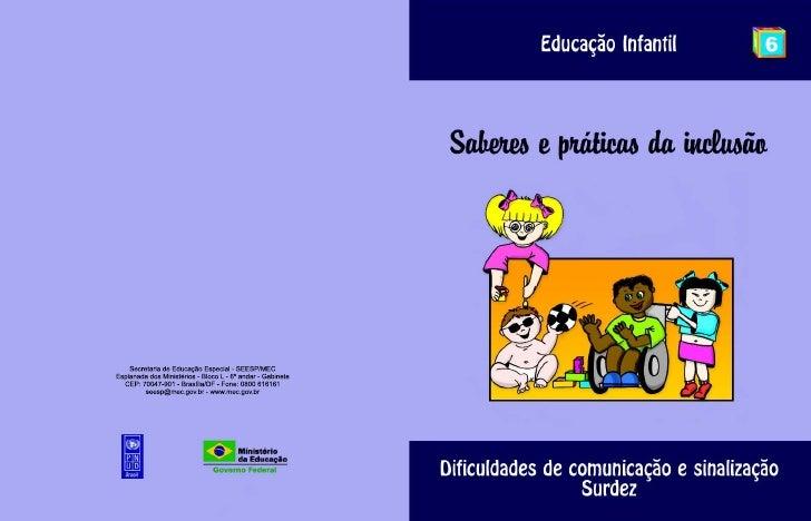 Educação infantil   surdez