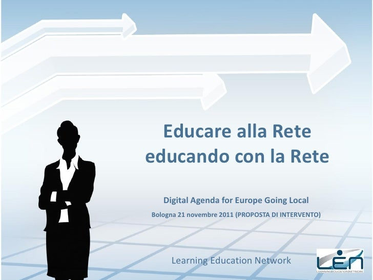 Educare alla rete educando con la rete