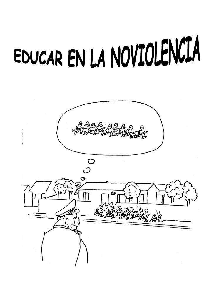 Educar En La Noviolencia