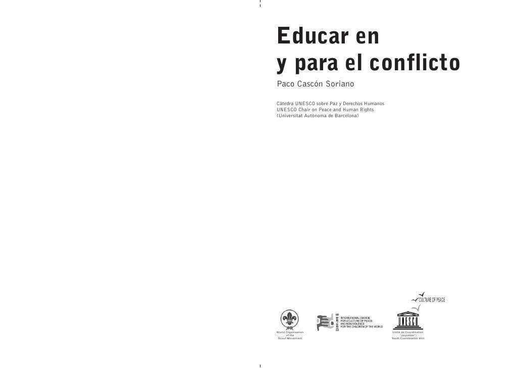 Educarenyparaelconflicto