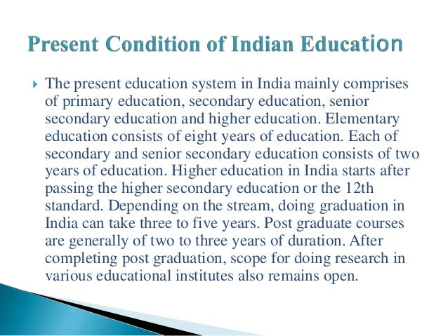 Essay With Thesis Essay On Modern Education System In India High School Essay Help also General Essay Topics In English Essay On Modern Education System In India  Short Essay On The  Sample Essays For High School