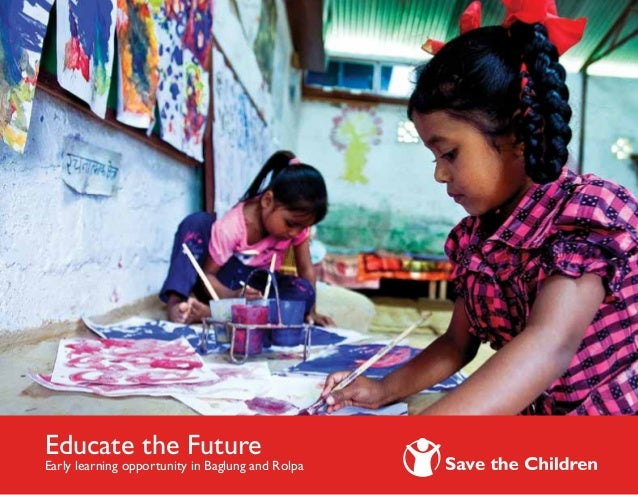 Educate the Future Early learning opportunity in Baglung and Rolpa