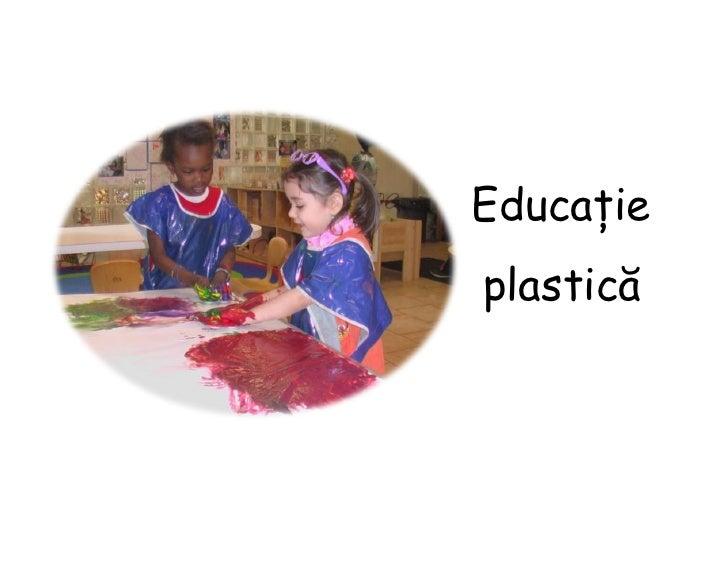 Educațieplastică