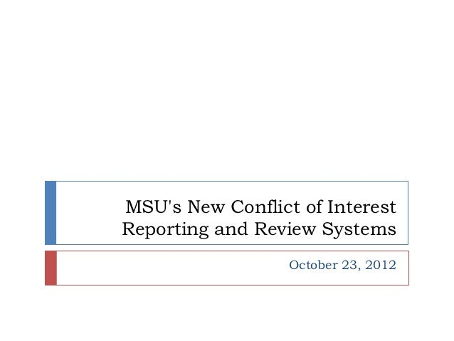 Responsible Conduct of Research (RCR) - Conflict of Interest (COI) - College of Education  - 12-10-23