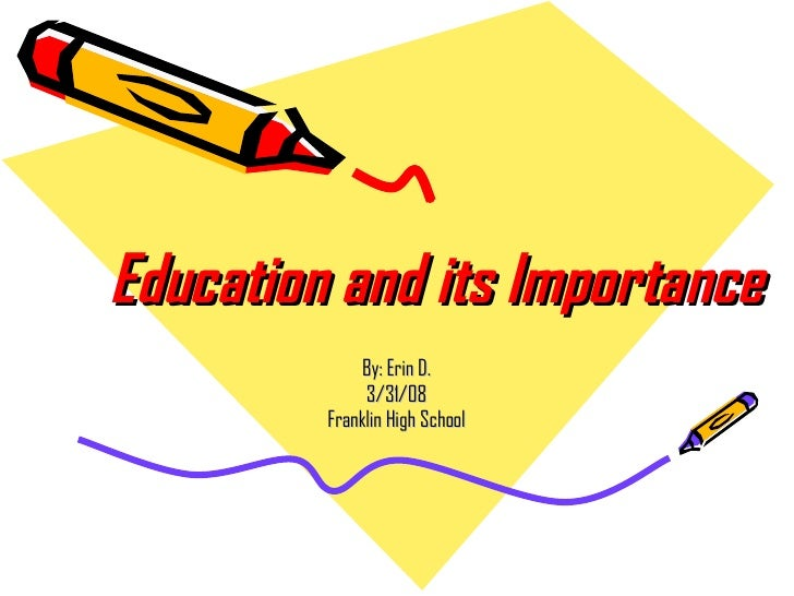 the importance of art education essay
