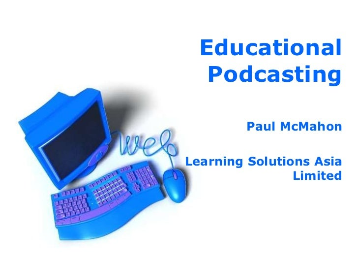 Educational Podcasting Ktlms
