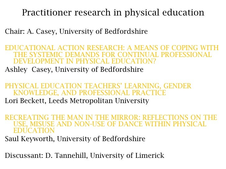 Educational action research