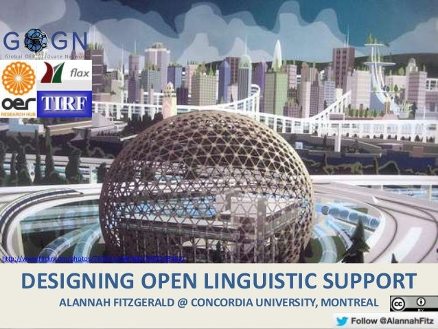 Designing Open Linguistic Support