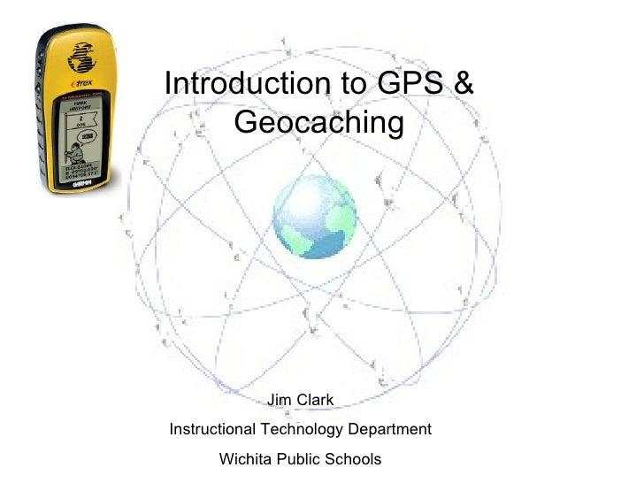 Educational geocaching presentation