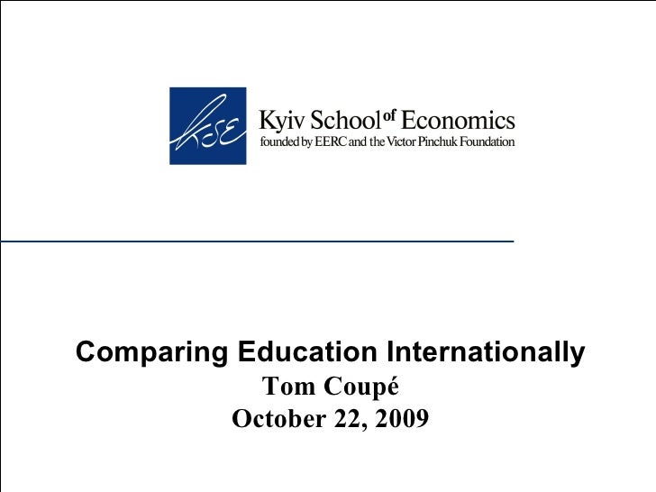 Comparing Education Internationally
