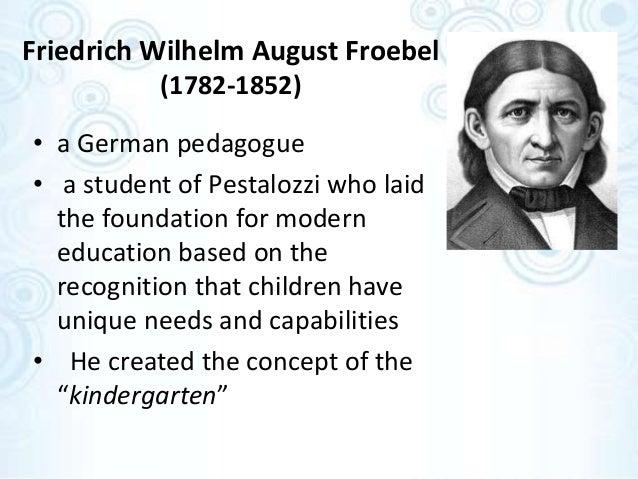 froebel philosophy