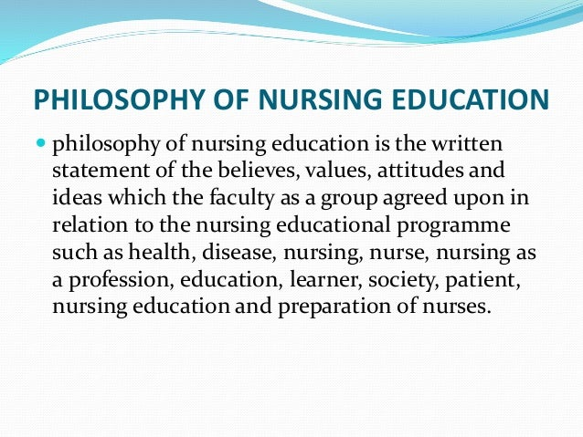 How A Personal Philosophy of Nursing Can Help Your Career