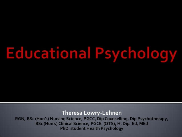 educational psychology 8 essay