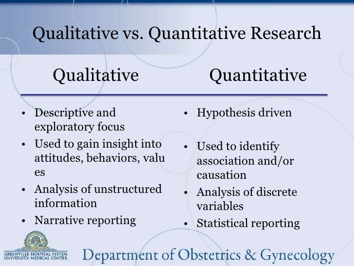 1qualitative and quantitative research International journal of education issn 1948-5476 2010, vol 2, no 2: e1 1 wwwmacrothinkorg/ije quantitative and qualitative research: a view for clarity catherine m castellan.