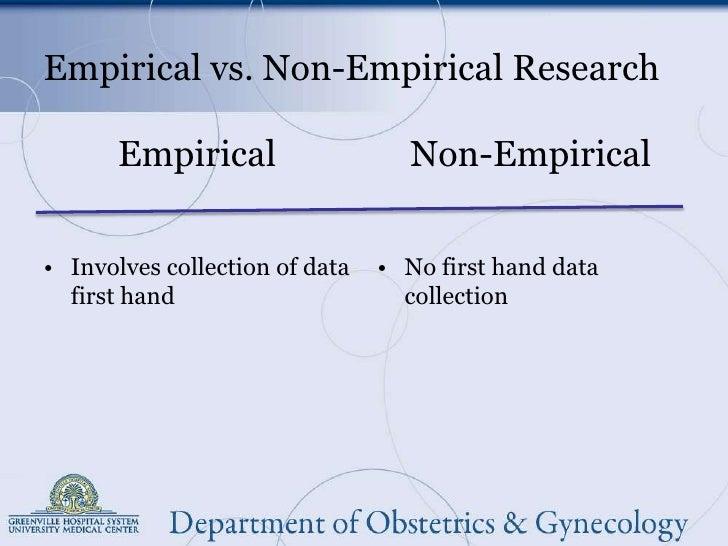 emerical research Define empirical research empirical research synonyms, empirical research pronunciation, empirical research translation, english dictionary definition of empirical research.