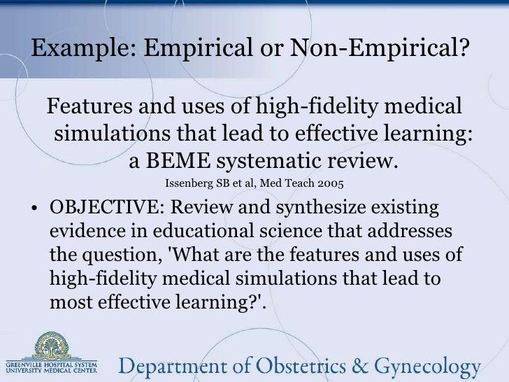 Empirical research - Wikipedia