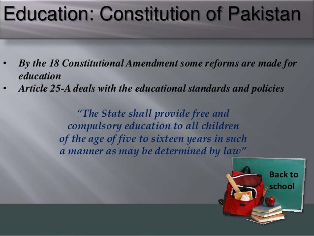 education standard in pakistan essay Education system in pakistan issues problems and solutions we have any issue in education system of pakistan so our government should take decision and should find.