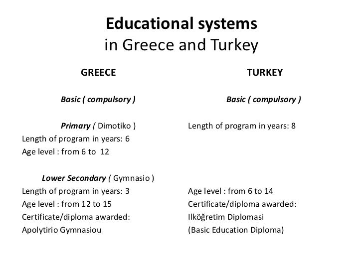 Educational systems