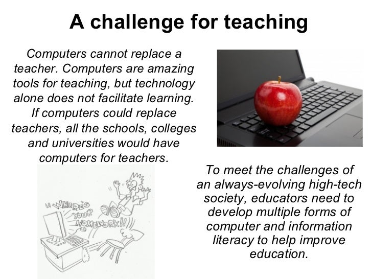 essay on computers replacing teachers