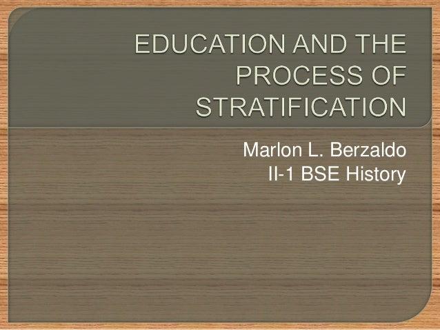 Marlon L. Berzaldo II-1 BSE History