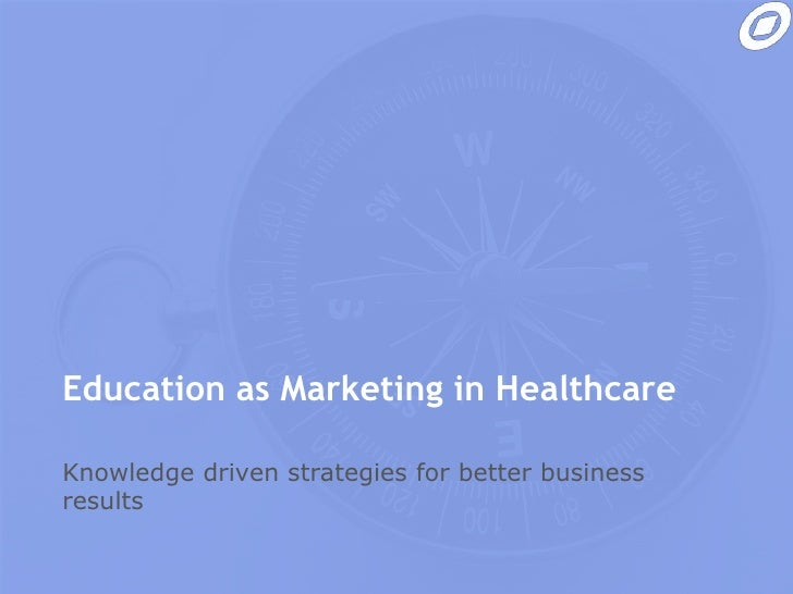 Education as marketing in Pharma