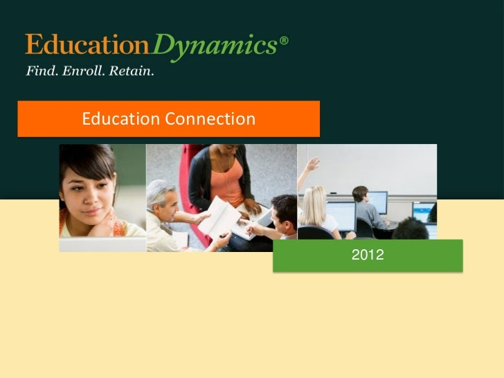 Education connection client presentation