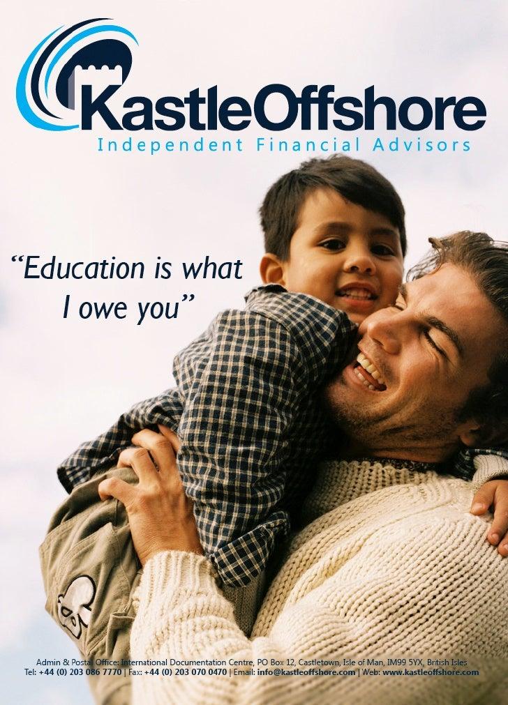 Education Fee Funding Brochure Copy